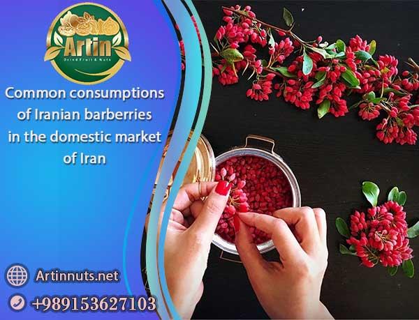 Iranian barberries consumption