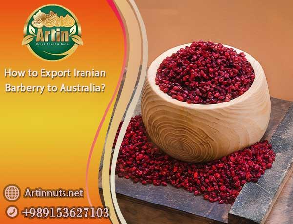 Export Iranian Barberry to Australia