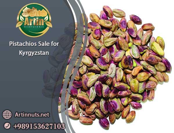 Pistachios Sale for Kyrgyzstan