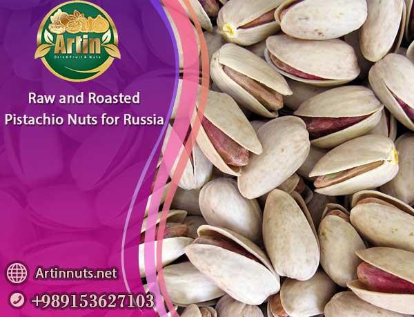 Pistachio Nuts for Russia