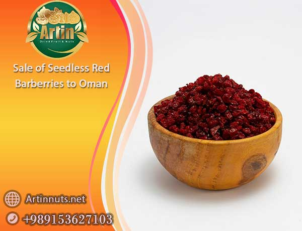 Seedless Red Barberries to Oman
