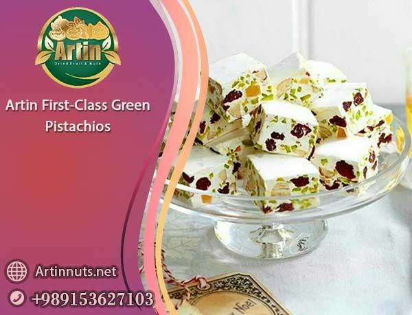 First-Class Green Pistachios
