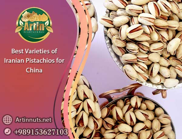 Iranian Pistachios for China
