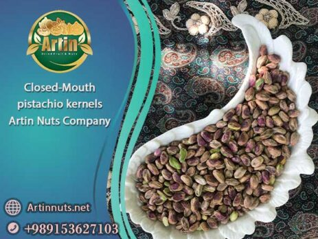 Closed-Mouth pistachio kernels