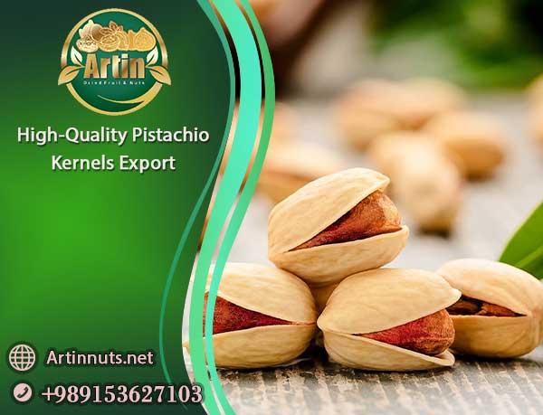 Pistachio Kernels Export