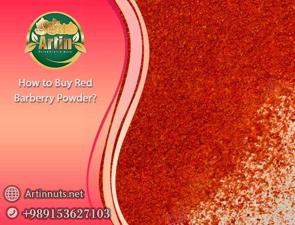 uy Red Barberry Powder