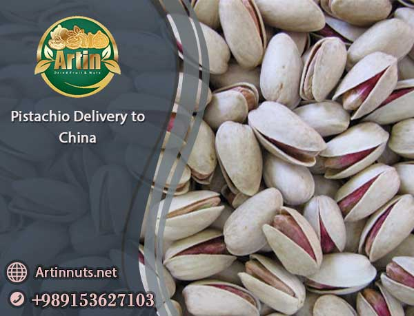Pistachio Delivery to China