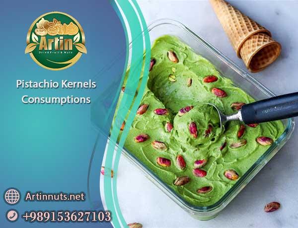 Pistachio Kernels Consumptions