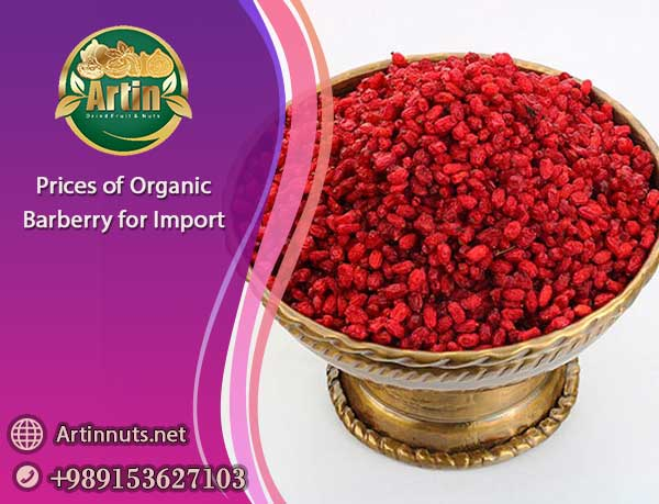 Prices of Organic Barberry