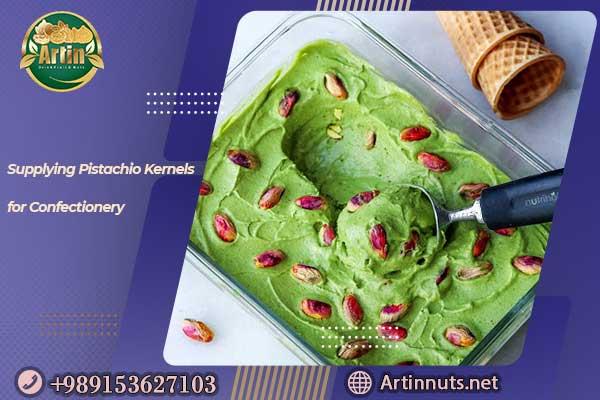 Pistachio Kernels for Confectionery