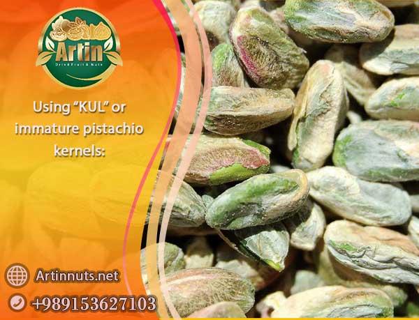 KUL immature pistachio kernels