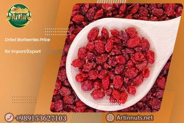 Dried Barberries Price