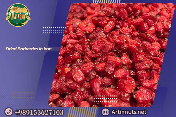 Dried Barberries in Iran