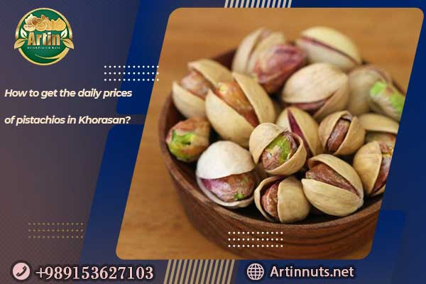 daily prices of pistachios