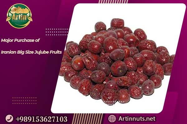 Iranian Big Size Jujube Fruits