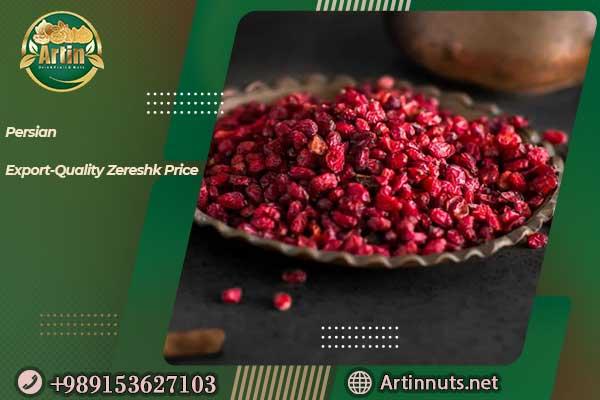 Export-Quality Zereshk Price