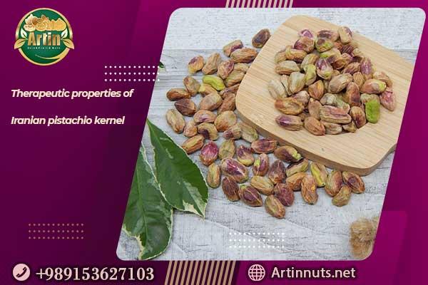 Therapeutic properties of pistachio kernel
