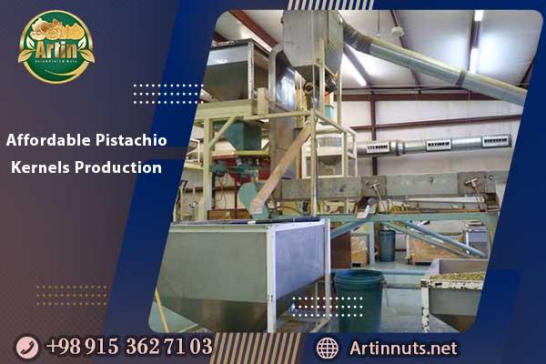 Affordable Pistachio Kernels Production