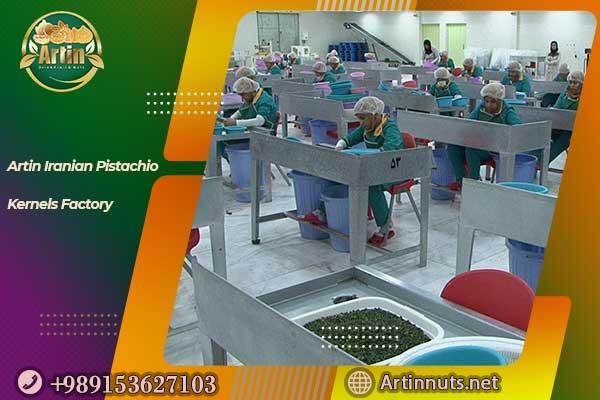 Iranian Pistachio Kernels Factory