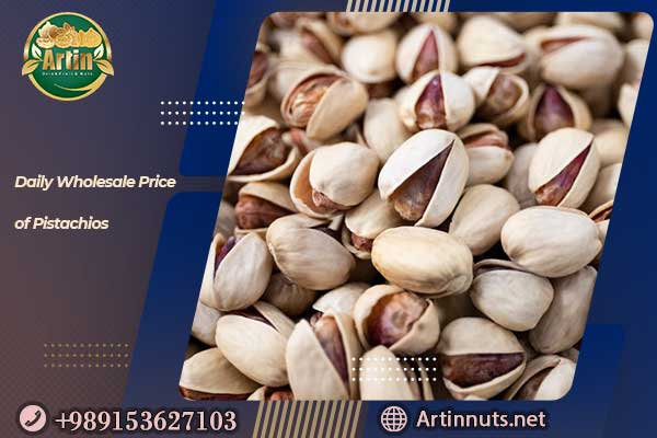 Daily Wholesale Price of Pistachios