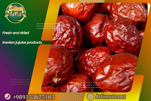 Fresh and dried Iranian jujube