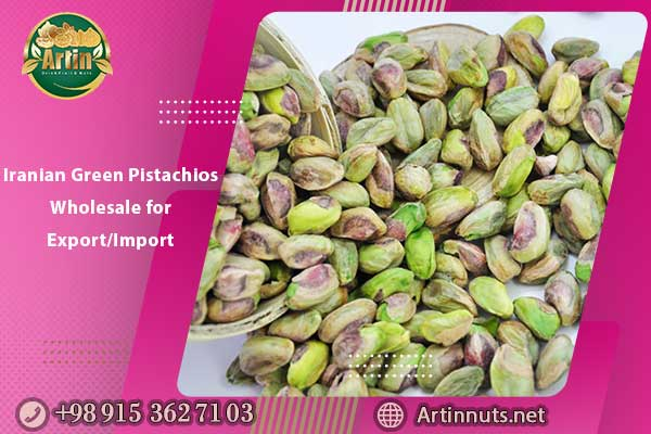 Iranian Green Pistachios