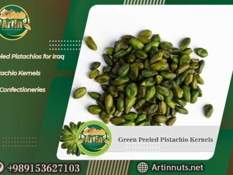 Peeled Pistachios for Iraq