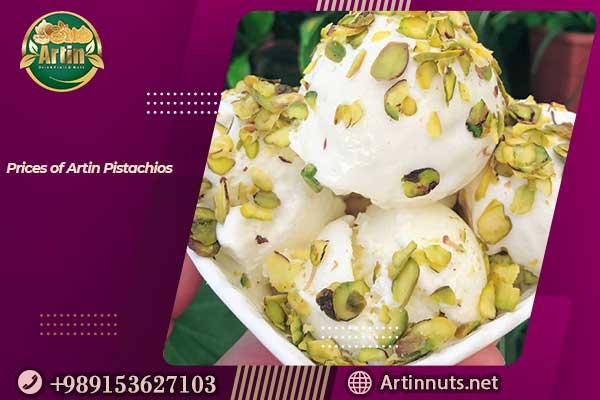 Prices of Artin Pistachios