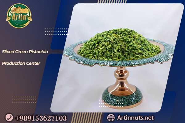 Sliced Green Pistachio
