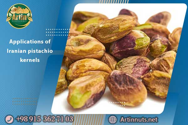 Applications of Iranian pistachio kernels
