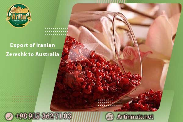 Export of Iranian Zereshk to Australia