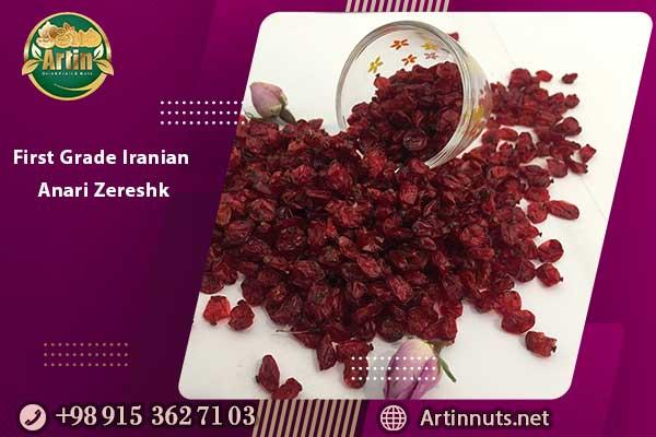 First Grade Iranian Anari Zereshk