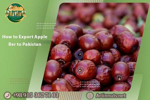 How to Export Apple Ber to Pakistan