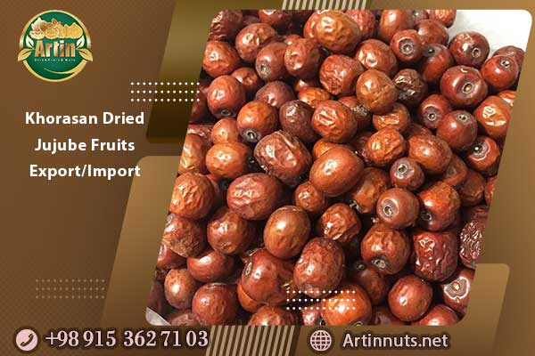 Khorasan Dried Jujube Fruits Export/Import