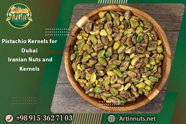 Pistachio Kernels for Dubai