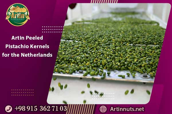 Artin Peeled Pistachio Kernels for the Netherlands
