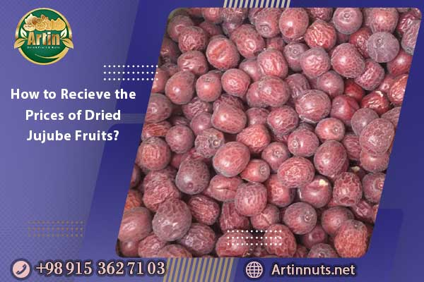 How to Recieve the Prices of Dried Jujube Fruits?