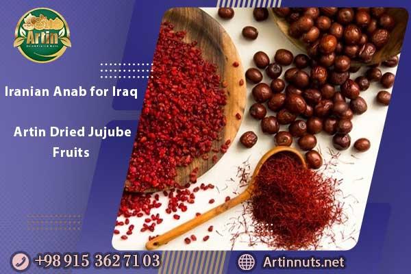 Iranian Anab for Iraq | Artin Dried Jujube Fruits