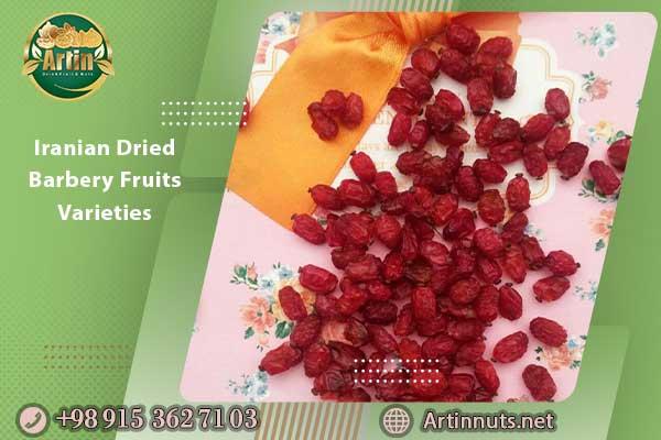 Iranian Dried Barbery Fruits Varieties