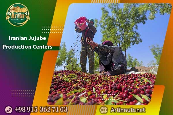 Iranian Jujube Production Centers