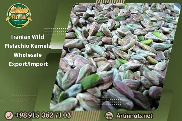 Iranian Wild Pistachio Kernels Wholesale & Export/Import