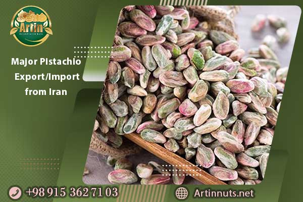 Major Pistachio Export/Import from Iran