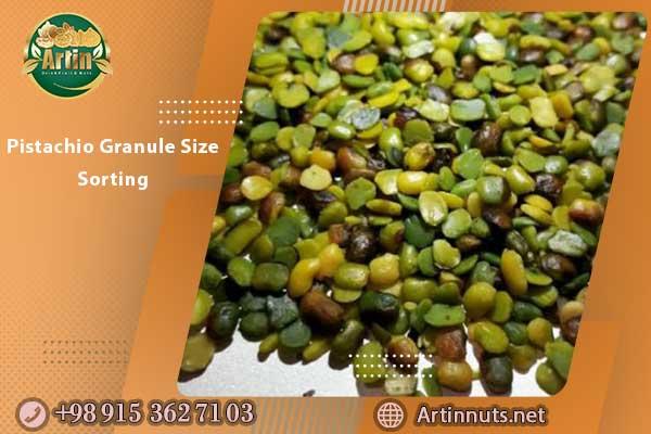 Pistachio Granule Size Sorting