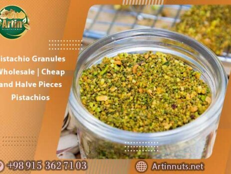 Pistachio Granules Wholesale | Cheap and Halve Pieces Pistachios