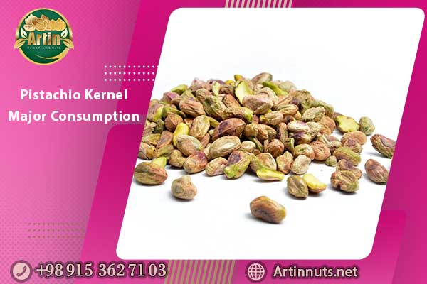 Pistachio Kernel Major Consumption