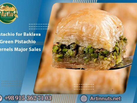 Pistachio for Baklava | Green Pistachio Kernels Major Sales