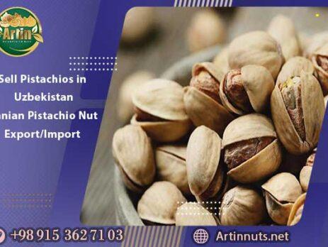 Sell Pistachios in Uzbekistan | Iranian Pistachio Nut Export/Import