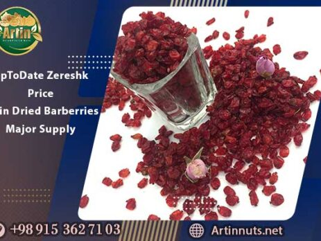 UpToDate Zereshk Price | Artin Dried Barberries Major Supply