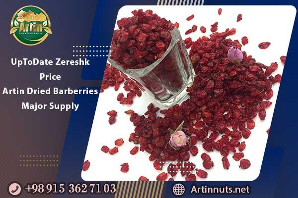 UpToDate Zereshk Price | Artin Dried Barberries Major Supply