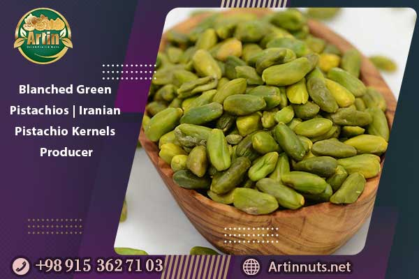 Blanched Green Pistachios   Iranian Pistachio Kernels Producer